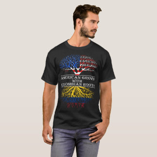 American Grown With Colombian Roots Tshirt