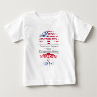 American Grown With Paraguayan Roots Great Gift Baby T-Shirt