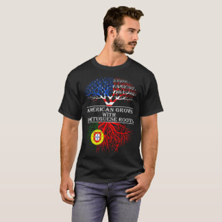 American Grown With Portuguese Roots T-Shirt