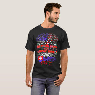 American Grown With Slovak Roots Christmas Ugly T-Shirt