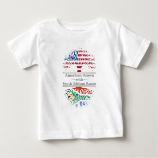 American Grown With South African Roots Baby T-Shirt