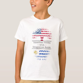 American Grown With Uruguayan Roots Great Gift T-Shirt