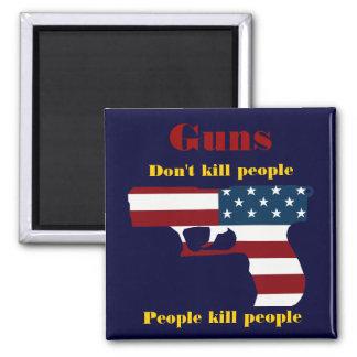American Gun Magnet