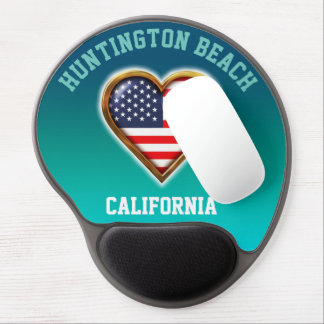 American Heart Customized With Your City And State Gel Mouse Pad