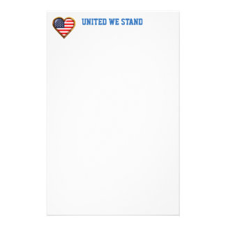 American Heart Personalized Stationery
