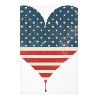 AMERICAN-HEART STATIONERY