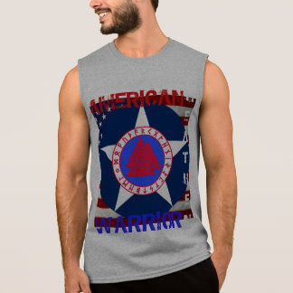 American Heathen--Air Force Sleeveless Shirt
