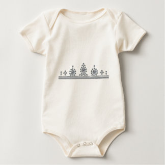American Heiress Tiara Baby Bodysuit