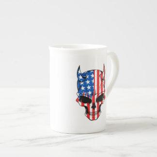 American Hellion Skull Tea Cup