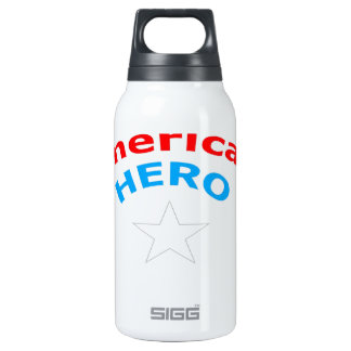 American Hero. 0.3 Litre Insulated SIGG Thermos Water Bottle