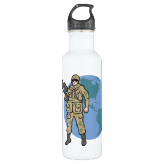 American Hero 710 Ml Water Bottle