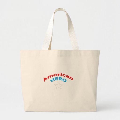 American Hero. Tote Bag