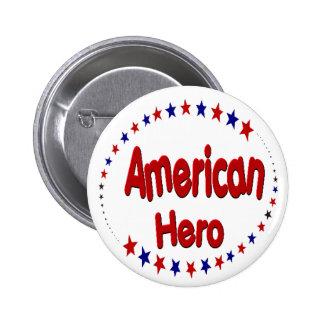 American Hero Button