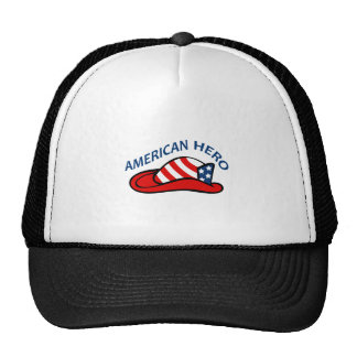 AMERICAN HERO TRUCKER HATS