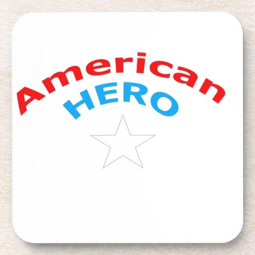 American Hero. Drink Coaster