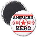 American Hero Fridge Magnet