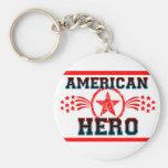 American Hero Key Chain