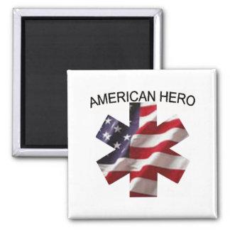American Hero Magnet