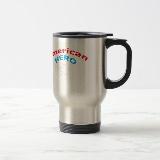 American Hero. Mug