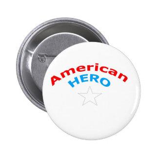 American Hero Pin