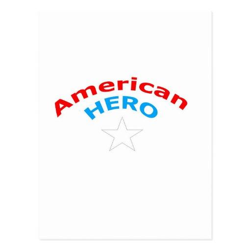 American Hero. Post Cards