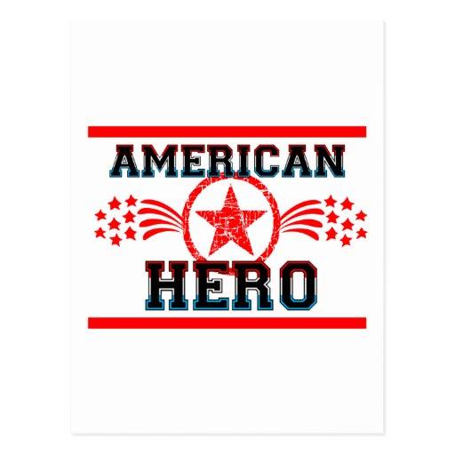 American Hero Postcards