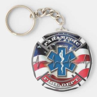 American hero pride basic round button key ring