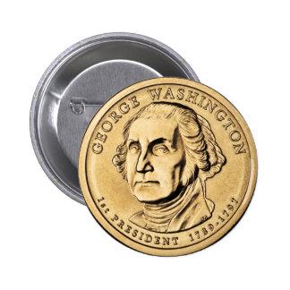 American Hero - Washington Button