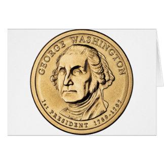 American Hero - Washington Greeting Card
