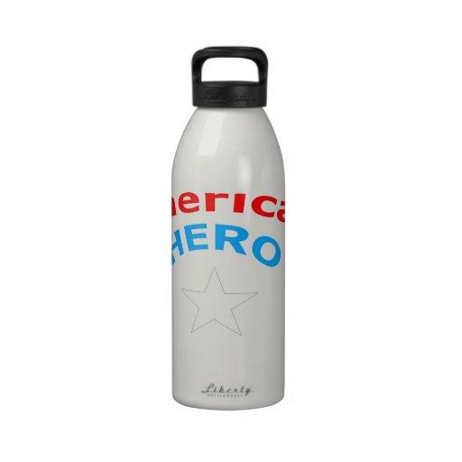 American Hero. Reusable Water Bottle