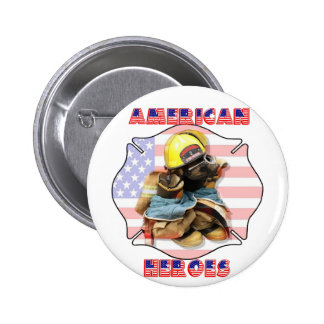 AMERICAN HEROES- BUTTON
