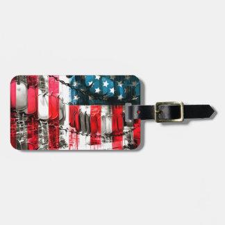 American Heroes Luggage Tag
