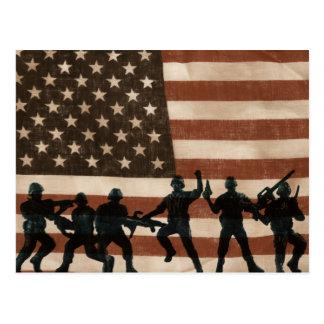 American Heroes Postcard