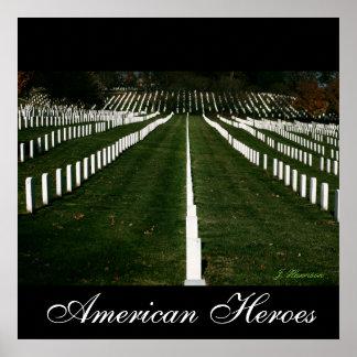 American Heroes Poster