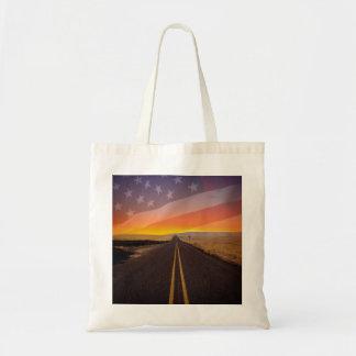 AMERICAN HIGHWAYS Tote Bags