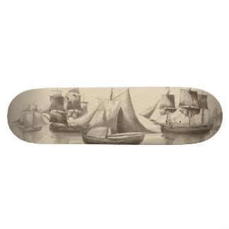 American History - Sailing from Halifax 19.7 Cm Skateboard Deck