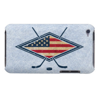 American Hockey Flag Logo Barely There iPod Case