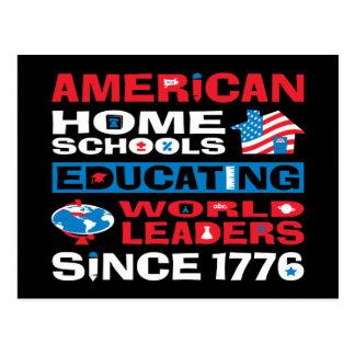 American Home Schools Postcard