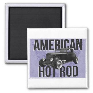 American Hot Rod - blue version Magnet