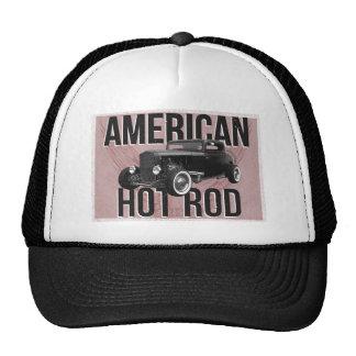American Hot Rod - red version Mesh Hat