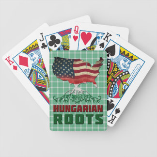 American Hungarian Roots Card Deck Bicycle Playing Cards