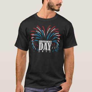 American Independence Day Fireworks T-Shirt