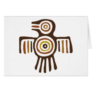 American Indian Bird Card
