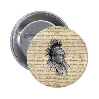 American Indian Button