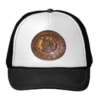 American Indian calendar design Mesh Hat