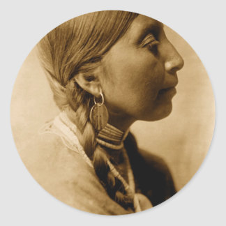 American Indian Collection Round Sticker