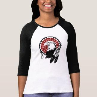 American Indian Eagle Dreamcatcher Raglan T-Shirt