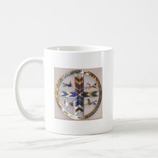American Indian Four Directions Symbol Coffee Mug