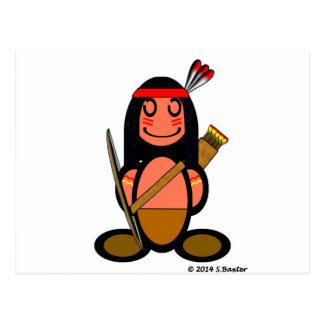 American Indian (plain) Post Cards