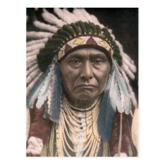 American Indian Postcard